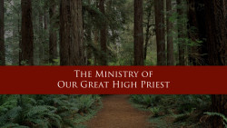 The New Covenant: The Ministry of Our Great High Priest